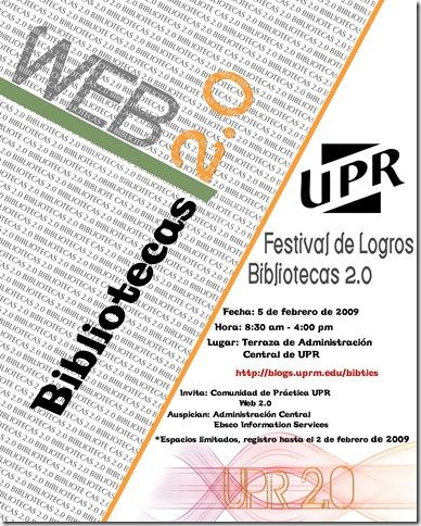 Festival de Logros – Bibliotecas 2.0