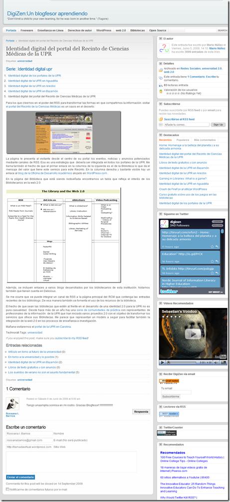 Identidad digital del portal del Recinto de Ciencias Médicas de la UPR