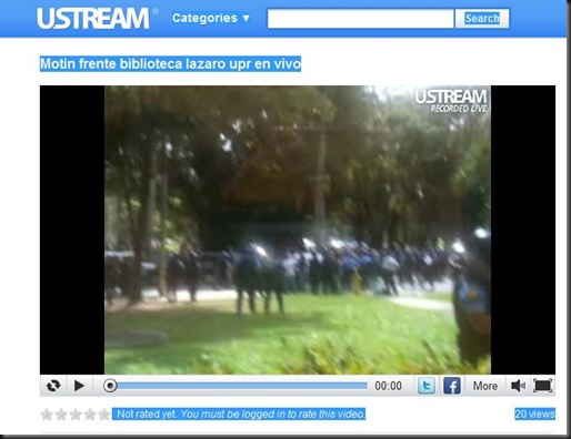 FireShot capture #608 - 'Motin frente biblioteca lazaro upr en vivo, Recorded live on my iPhone on 02_09_11 at 01_10 p_m_ GMT-04_00 jalmeyda on USTREAM_ Educational' - www_ustream_tv_recorded_12572404