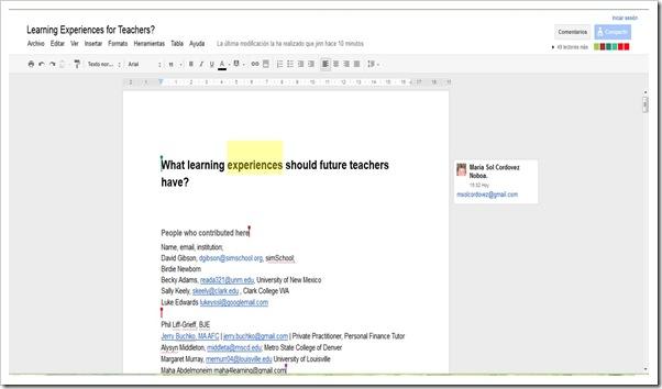 Google Doc 49 personas VWBPE  2012